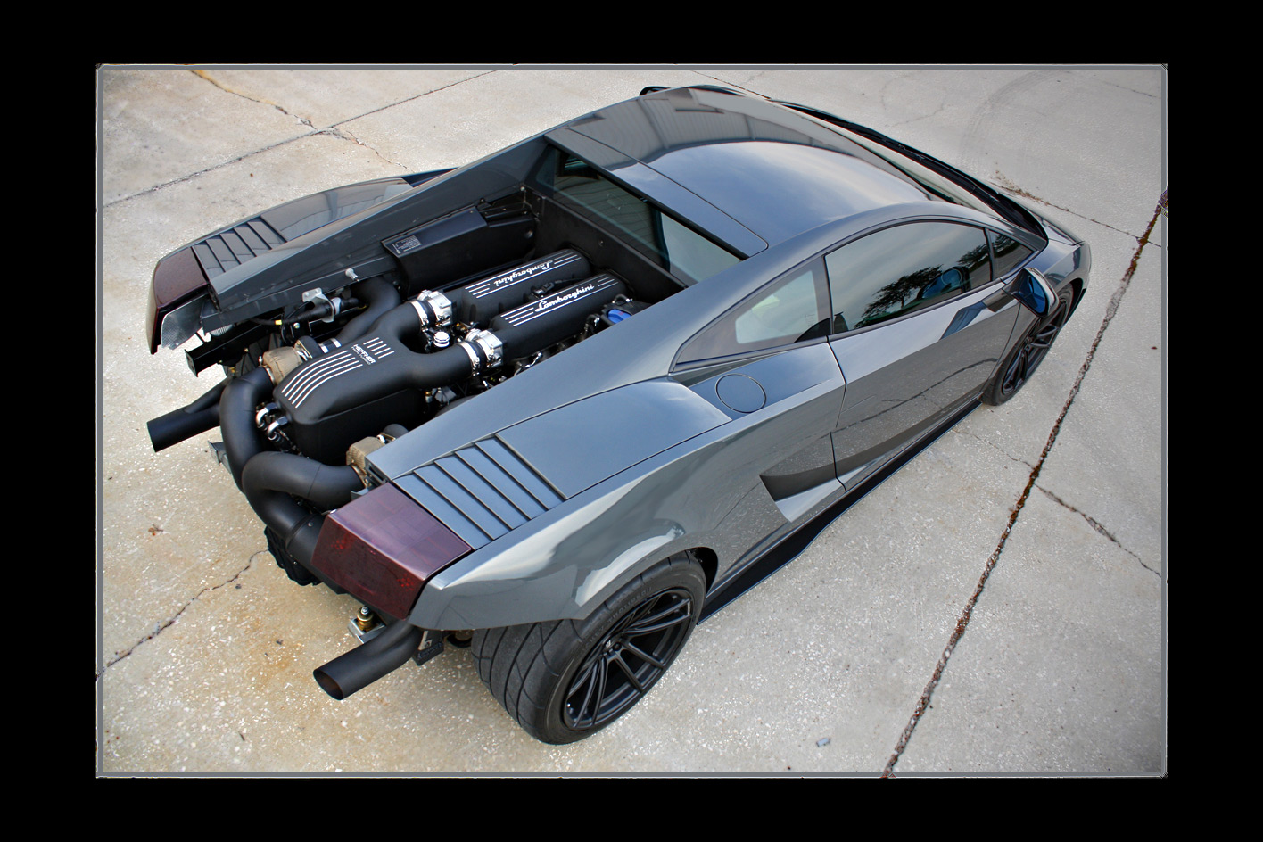 Twin Turbo Lamborghini Gallardo Heffner Performance