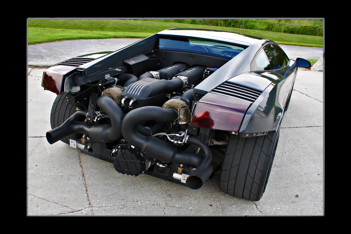 Twin Turbo Lamborghini Gallardo Heffner Performance