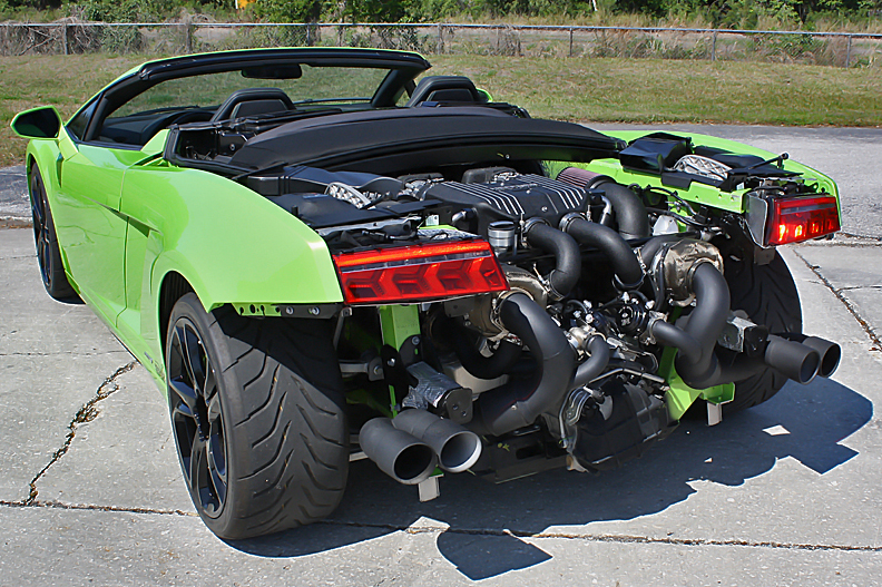 Lamborghini Twin Turbo Systems 560 570 Gallardo Heffner Performance