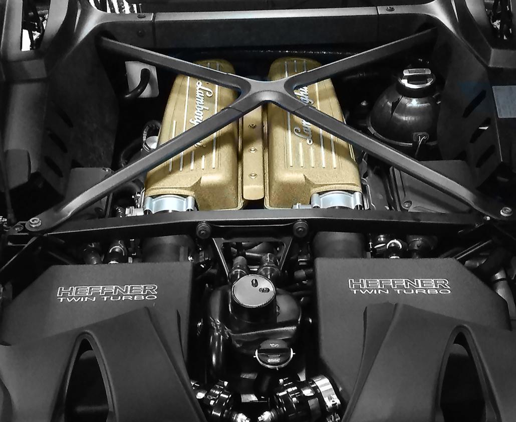 Twin Turbo Lamborghini Huracan Heffner Performance